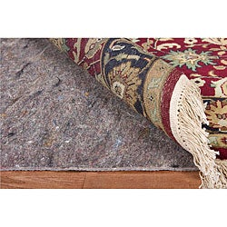 Deluxe Hard Surface and Carpet Rug Pad (9'9 Round)