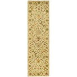 Safavieh Handmade Oriental Mahal Ivory Wool Runner (2'3 x 8')