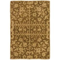 Safavieh Handmade Majestic Beige Wool Rug (2' x 3')