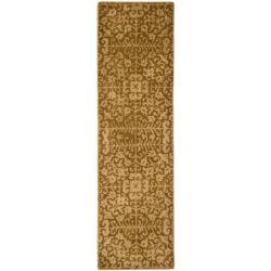 Safavieh Handmade Majestic Beige Wool Runner (2'3 x 16')