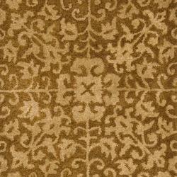 Safavieh Handmade Majestic Beige Wool Runner (2'3 x 20') - Thumbnail 2