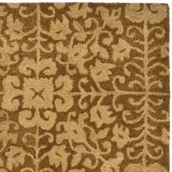 Safavieh Handmade Majestic Beige Wool Rug (3' x 5') - Thumbnail 1