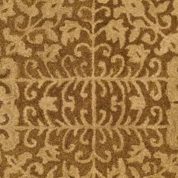 Safavieh Handmade Majestic Beige Wool Rug (3' x 5') - Thumbnail 2