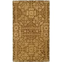 Safavieh Handmade Majestic Beige Wool Rug (3' x 5')