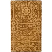 Safavieh Handmade Majestic Beige Wool Rug - 3' x 5'