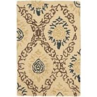 Safavieh Handmade Traditions Beige Wool Rug - 2' x 3'