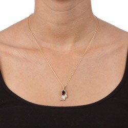 Black Hills Gold Black Onyx Necklace - Thumbnail 2