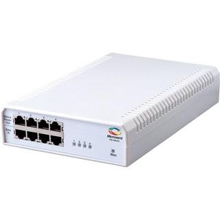 Microsemi 4-Port PoE Midspan, 10/100/1000BaseT, AC Input
