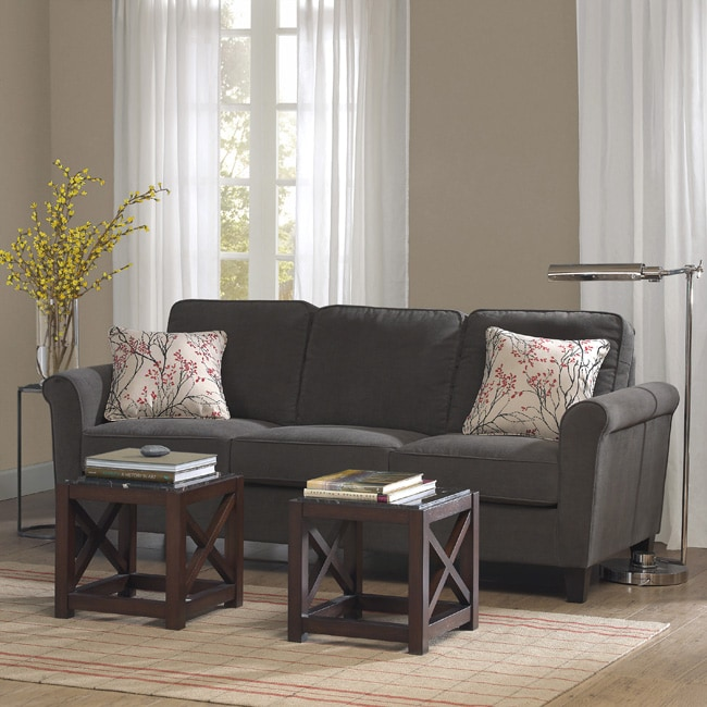 Shop Griffin Charcoal Sofa - Free Shipping Today ...