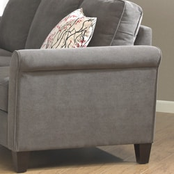 Griffin Charcoal Sofa - Thumbnail 1