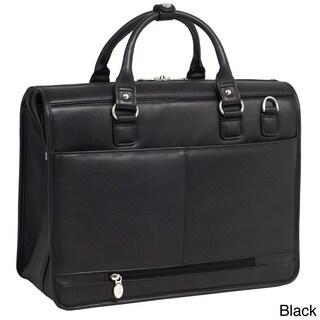 McKlein 'Gresham' Leather Litigator Laptop Brief