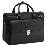 """McKlein 'Gresham' Leather Litigator 15"""" Laptop Brief"""