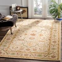 Safavieh Handmade Mahal Ivory Wool Rug - 7'6 x 9'6