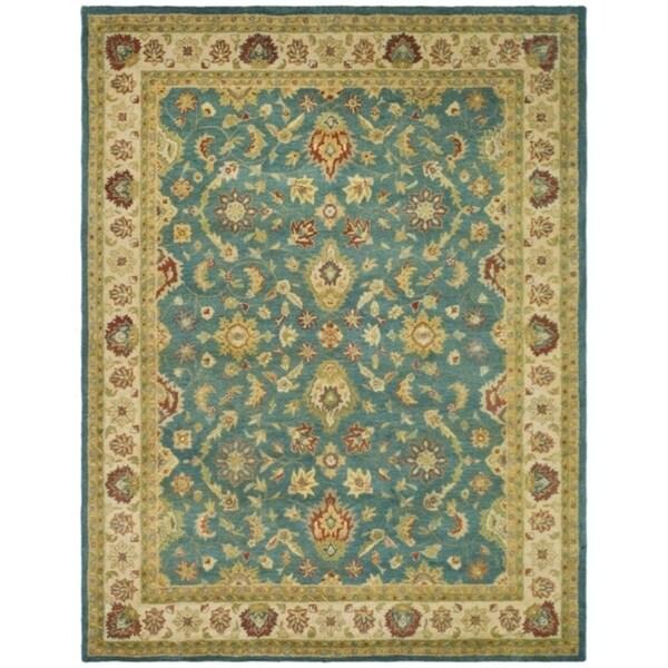 "Safavieh Handmade Jaipur Blue/ Beige Wool Rug - 8'3"" x 11'"