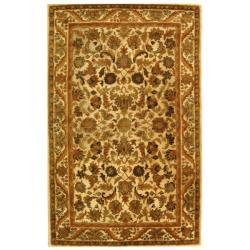 Safavieh Handmade Heritage Ivory Wool Rug (4' x 6')