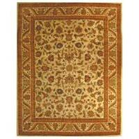 Safavieh Handmade Heritage Ivory Wool Rug (6' x 9')