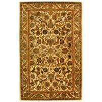 Safavieh Handmade Heritage Ivory Wool Rug - 6' x 9'