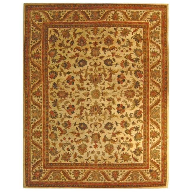 Safavieh Handmade Heritage Ivory Wool Rug - 8'3 x 11'