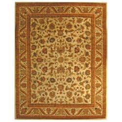 Safavieh Handmade Heritage Ivory Wool Rug (8'3 x 11') - Thumbnail 0