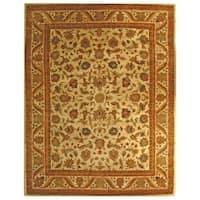 "Safavieh Handmade Heritage Ivory Wool Rug - 8'-3"" x 11'"