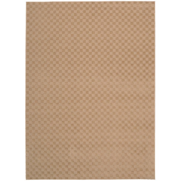 Nourison Living Necessities Natural Beige Rug - 5' x 7'