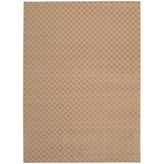 Nourison Living Necessities Natural Beige Rug (5' x 7')
