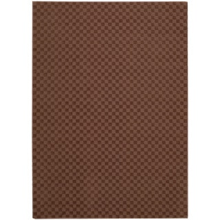 Nourison Living Necessities Hot Chocolate Rug (5' x 7')