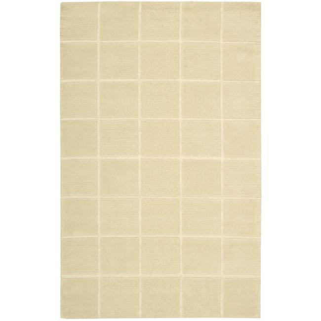 Nourison Westport Hand-Tufted Ivory Wool Area Rug - 8' x 10'6