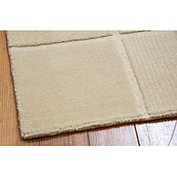 "Nourison Westport Hand-Tufted Ivory Wool Area Rug (8' x 10'6"") - Thumbnail 1"