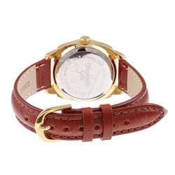 Black Hills Ladies' Gold Leather Strap Watch - Thumbnail 1