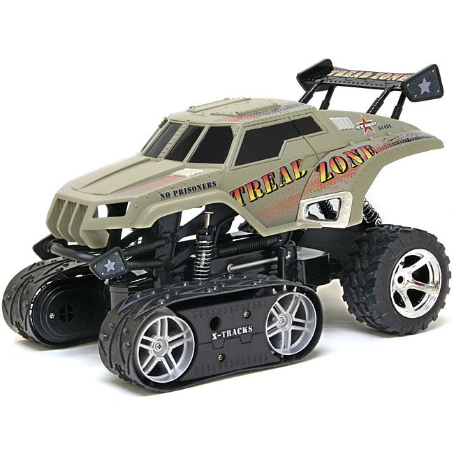 Radio Control 1:14-scale Camo Tread Zone Track Vehicle