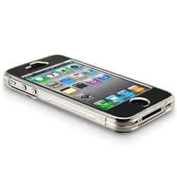 INSTEN Snap-on Crystal Phone Case Cover for Apple iPhone 4 - Thumbnail 1