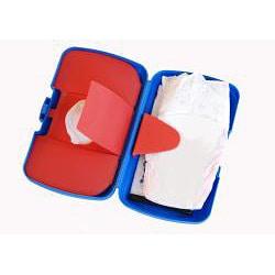 B.box Beep Beep Diaper Wallet and Changing Pad