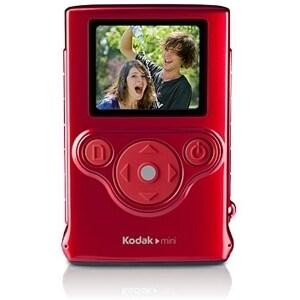 "Kodak Mini Digital Camcorder - 1.8"" LCD - CMOS - SD - Red"