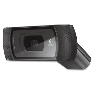 Logitech B910 Webcam - 5 Megapixel - 30 fps - Black - USB 2.0 - 1 Pac