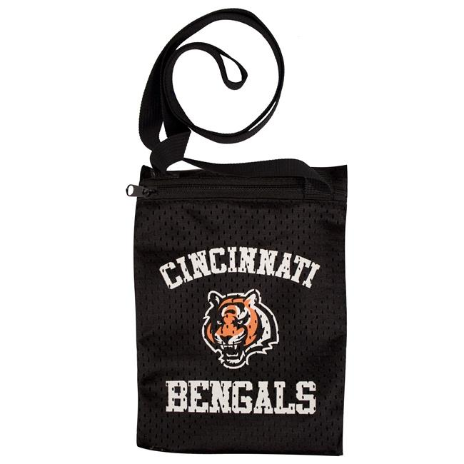 Little Earth Cincinnati Bengals Game Day Pouch