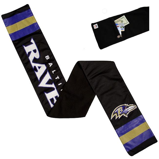 Little Earth Baltimore Ravens Jersey Scarf