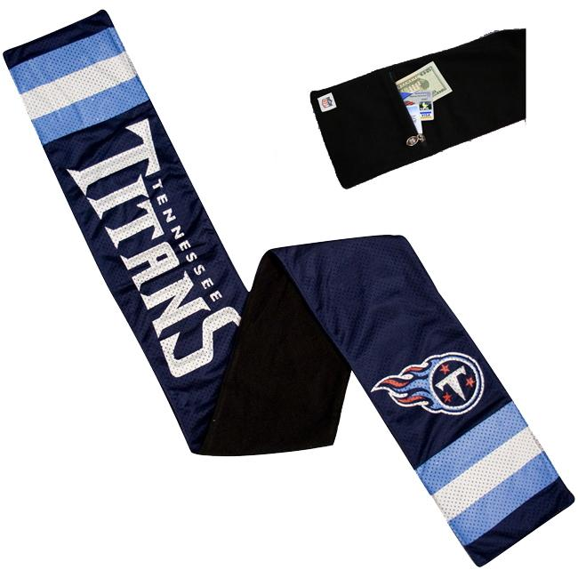 Little Earth Tennessee Titans Jersey Scarf