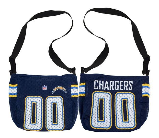 Little Earth San Diego Chargers Veteran Jersey Tote Bag