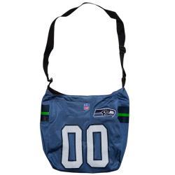 Little Earth Seattle Seahawks Veteran Jersey Tote Bag
