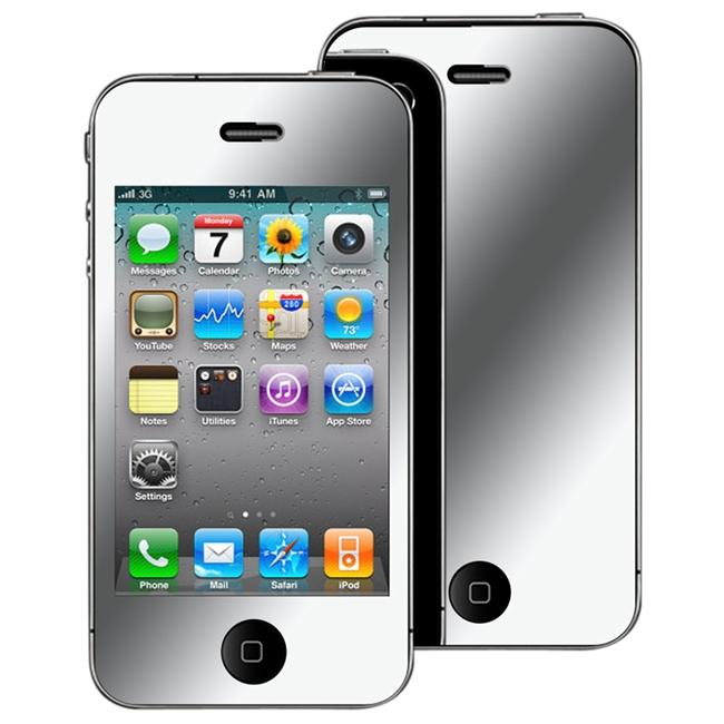 INSTEN Mirror Screen Protector for Apple iPhone 4 - Thumbnail 0
