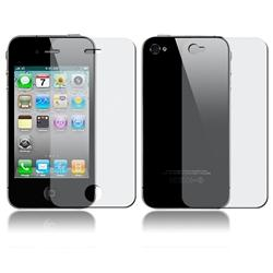 INSTEN LCD Anti-glare 2-piece Screen Cover for Apple iPhone 4 - Thumbnail 2