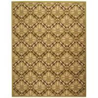 Safavieh Hand-hooked Chelsea Brown/ Green Wool Rug - 7'9 x 9'9
