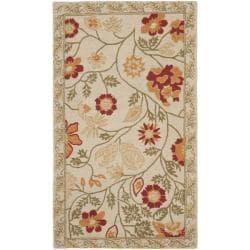 Safavieh Hand-hooked Eden Ivory Wool Rug (2'9 x 4'9)