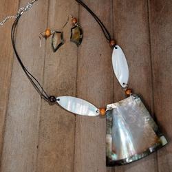 Handmade Shell Jewelry Set (Philippines)