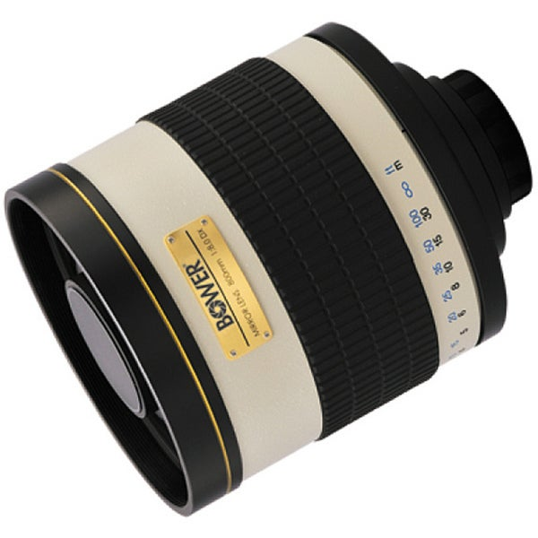 Bower 800mm F8.0 Canon EOS Mirror Lens