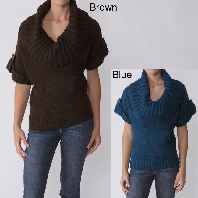 Ci Sono by Adi Juniors Cowl Neck Sweater