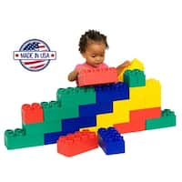 Serec Jumbo Blocks Construction Beginners Set