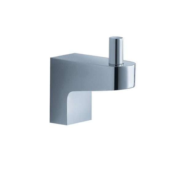 Fresca Generoso Robe Hook - Platinum/Chrome