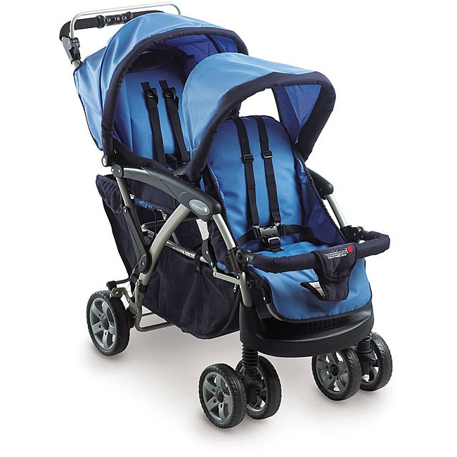 Foundations Duo Double Tandem Folding Stroller
